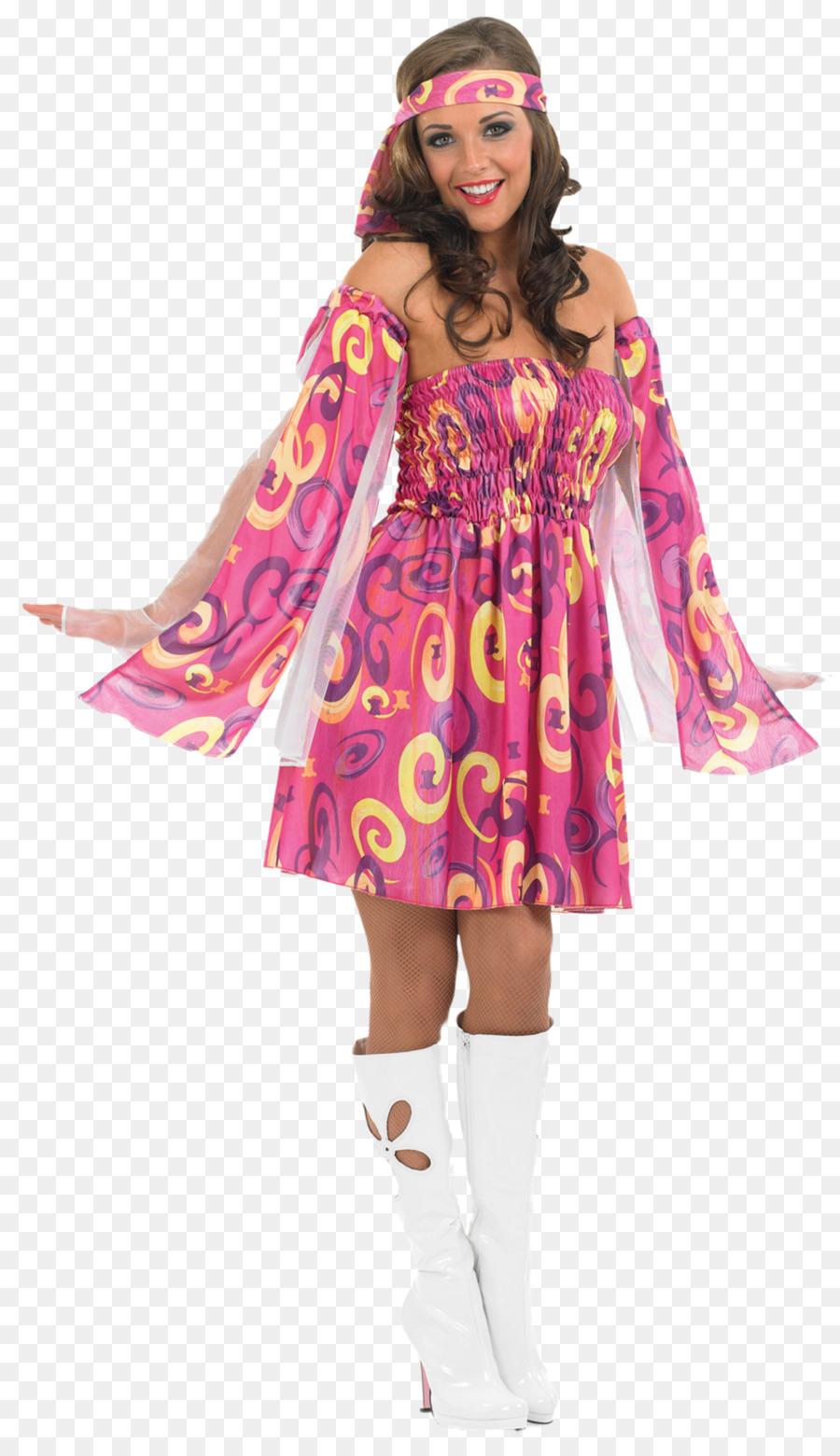 1960s 1970s fiesta de Disfraces Ropa - la moda de la flor Formatos ...