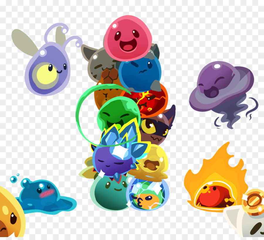 Slime Rancher Art Video Game Playstation 4 Water Beads Png