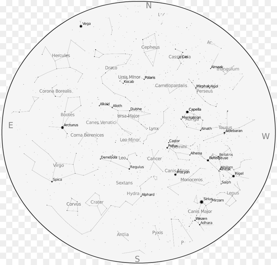 Southern Hemisphere Star chart Astronomy Night sky Constellation ...