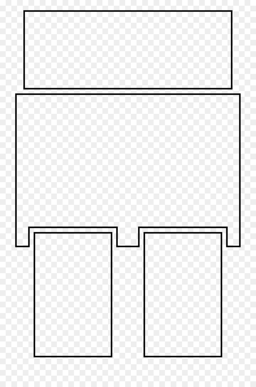 Paper Drawing Furniture White Book Template Box Png Download