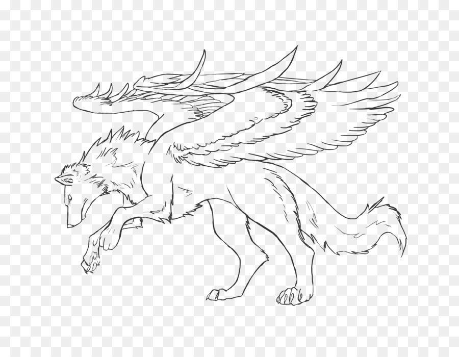 Libro para colorear, Dibujo de Niño Perro - el color de las alas 900 ...