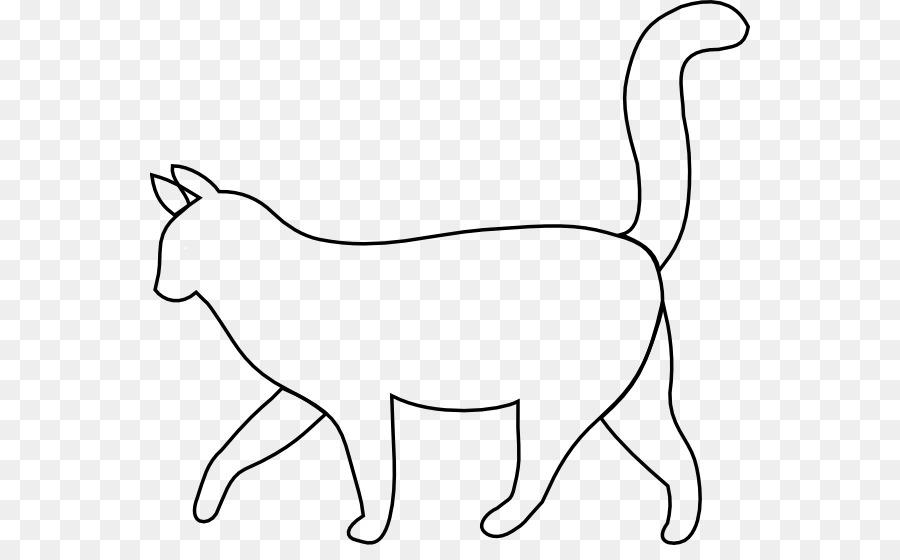 76 Foto Gambar Kucing Outline Terlihat Keren
