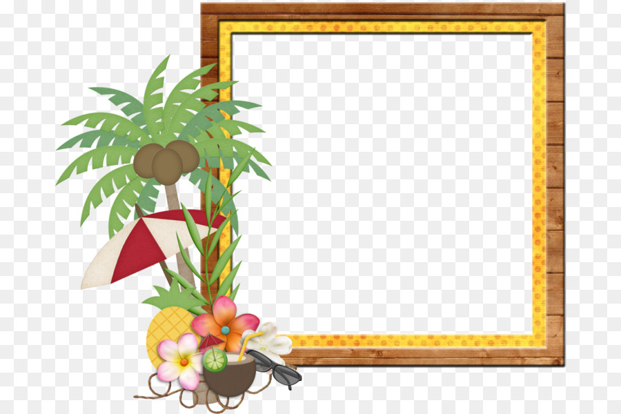 Picture Frames Indian Rocks Beach Hawaii Thepix - tropical frame png ...