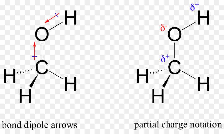 Chemical Polarity Methanol Covalent Bond Lewis Structure Molecule