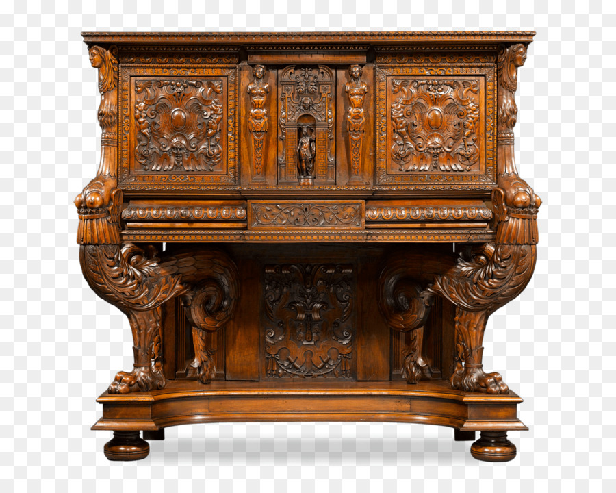 Merveilleux Italian Renaissance Gothic Architecture Antique Furniture French Renaissance    Carved Exquisite