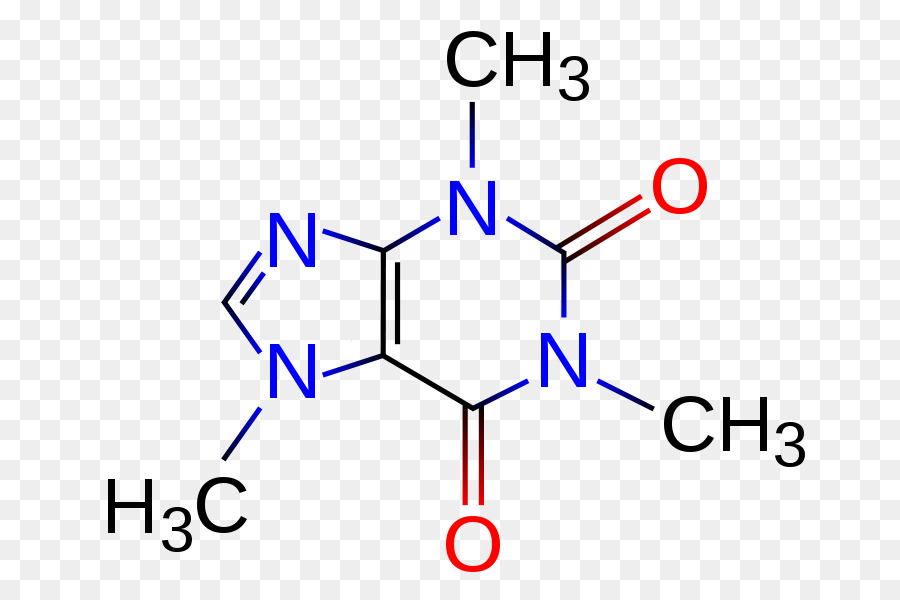 Coffee Tea Caffeine Chemical Structure Chemistry Urination Png