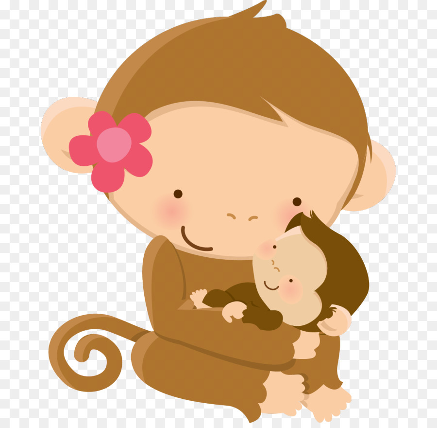 Baby Monkeys Wall decal Nursery Baby Jungle Animals Child - mom and ...