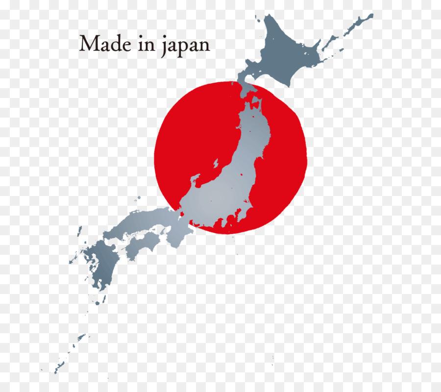 Iwaki Map Royalty Free