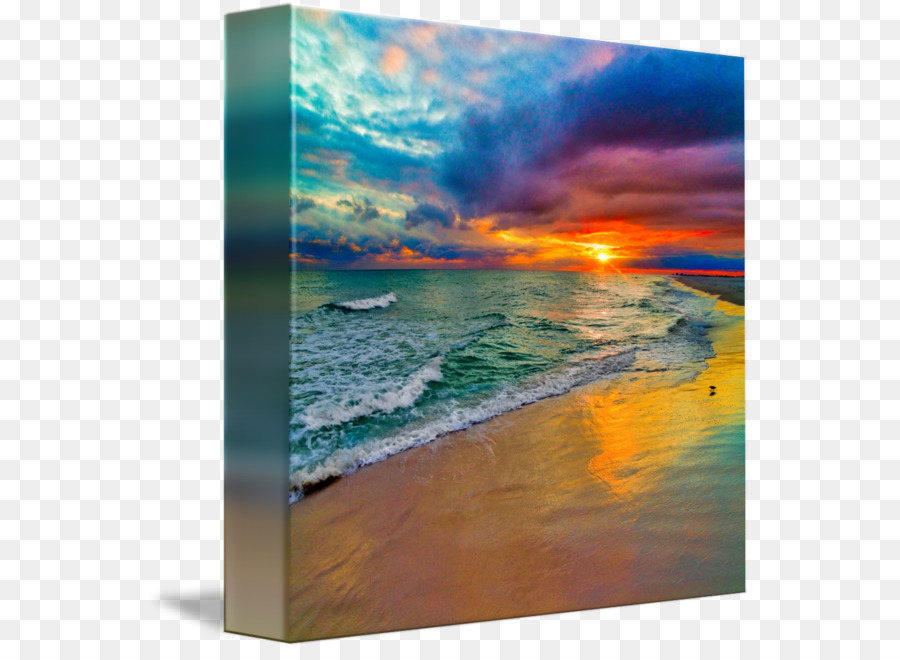 Canvas print Painting Printing Picture Frames - seascape png ...