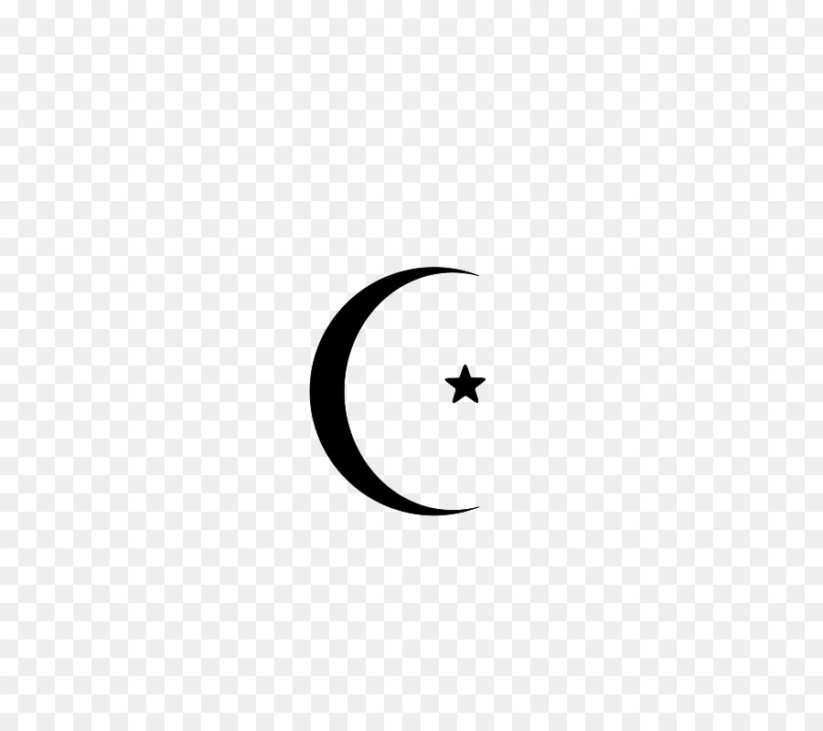 Star And Crescent Moon Lunar Phase Islam Png Download 566800