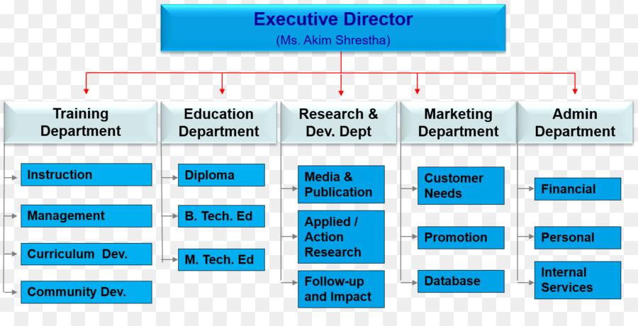 training department structure