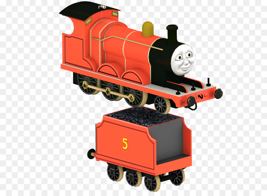 James The Red Engine Thomas Percy Train Sodor