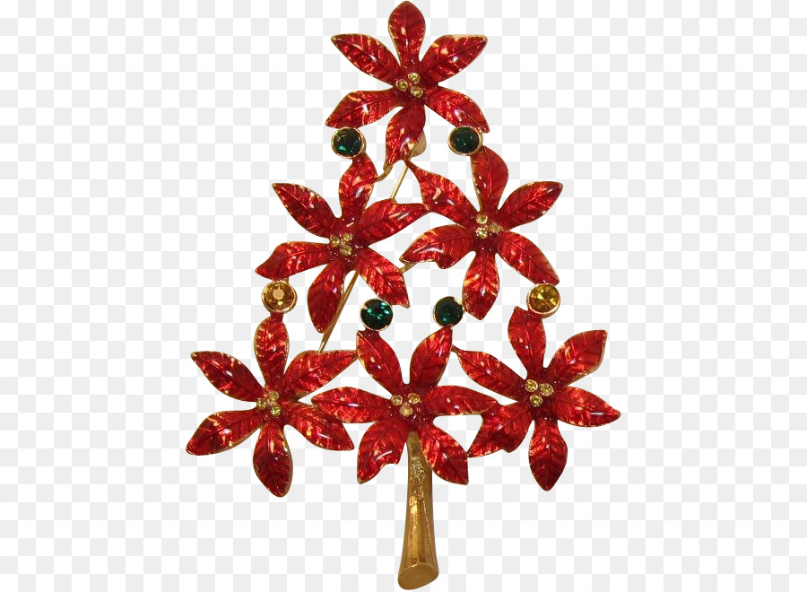christmas ornament poinsettia christmas tree taxco national day decoration
