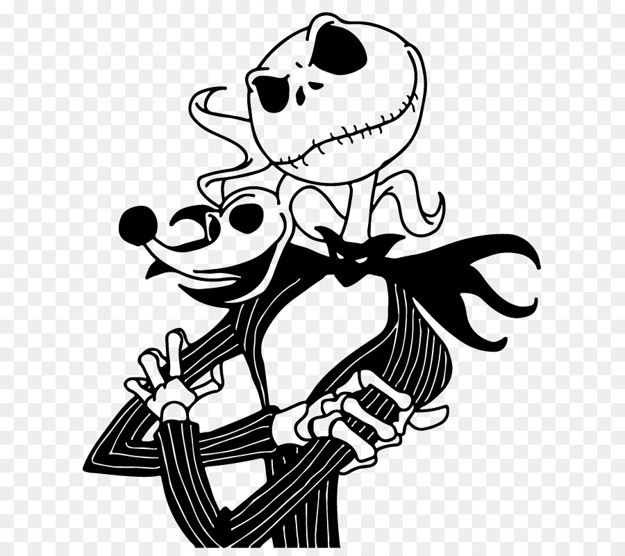 Jack Skellington Sally Youtube Art Drawing Series Clipart Png