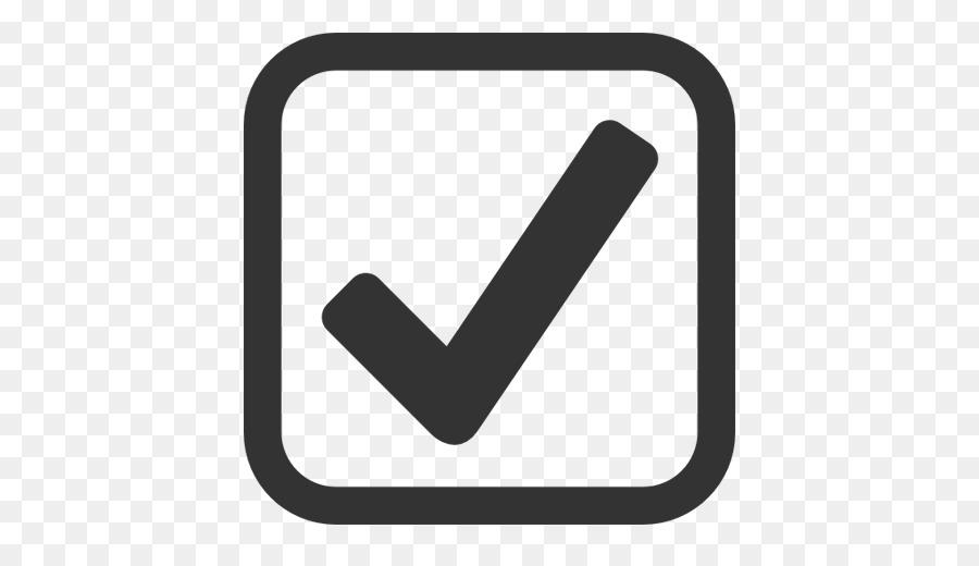 Checkbox Check Mark Computer Icons Microsoft Word Black And Blue