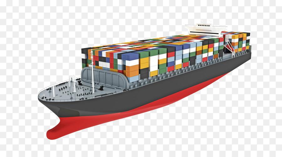 Buque de carga de transporte de mercanc as por barco de contenedores intermodales de - Contenedores de barco ...