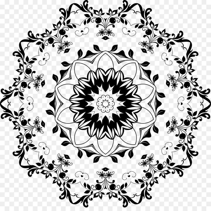 Mandala Floral design Flower - mandala pattern png download - 1280 ...