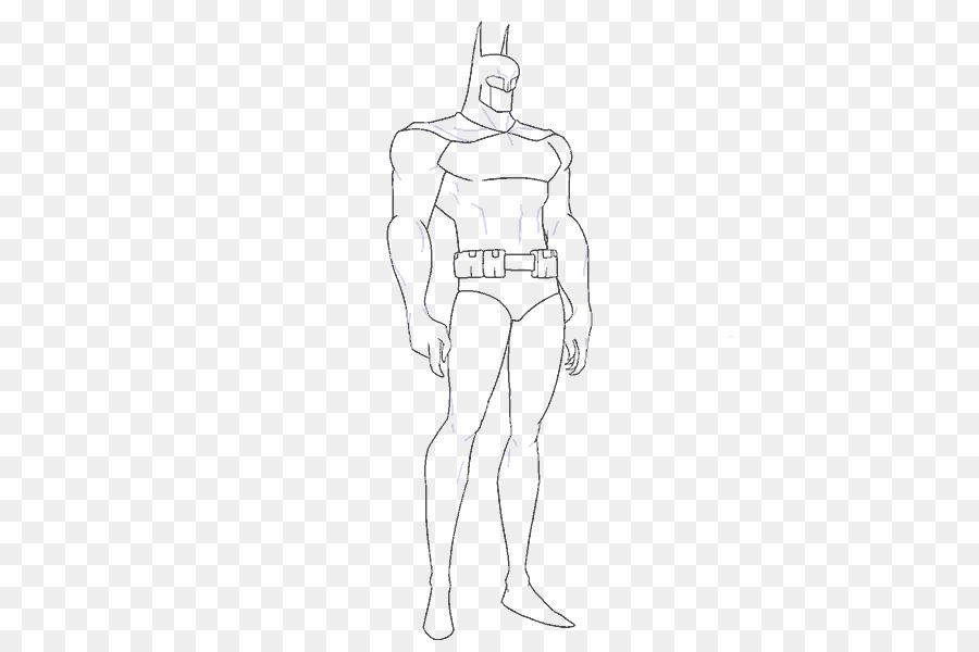 Batman Nightwing Línea de Dibujo en el arte de Croquis - breves ...