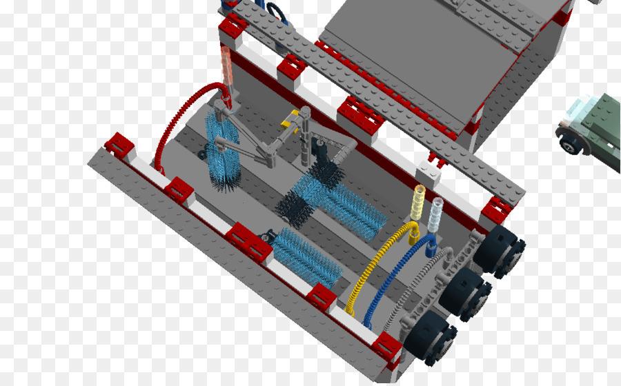 City Car Pressure Washers Car Wash Lego City   Tunnel