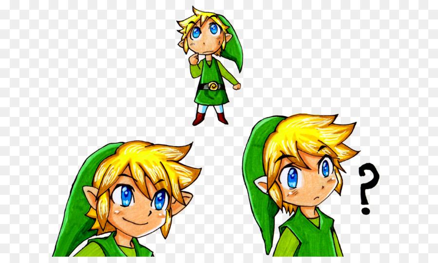 Link de The Legend of Zelda: Phantom Hourglass Dibujo - mobile ...