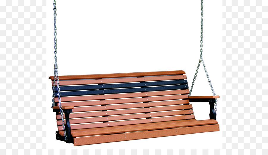 Columpio del Porche de madera Plástica muebles de Jardín de Banco ...