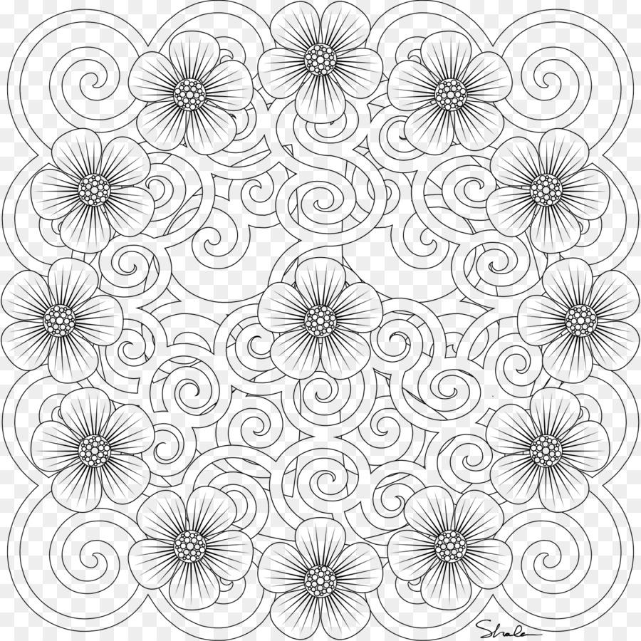 Libro para colorear de Europa Mandala - el arte abstracto Formatos ...