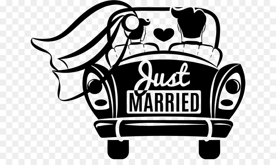 car marriage clip art weddings married png download 700 521