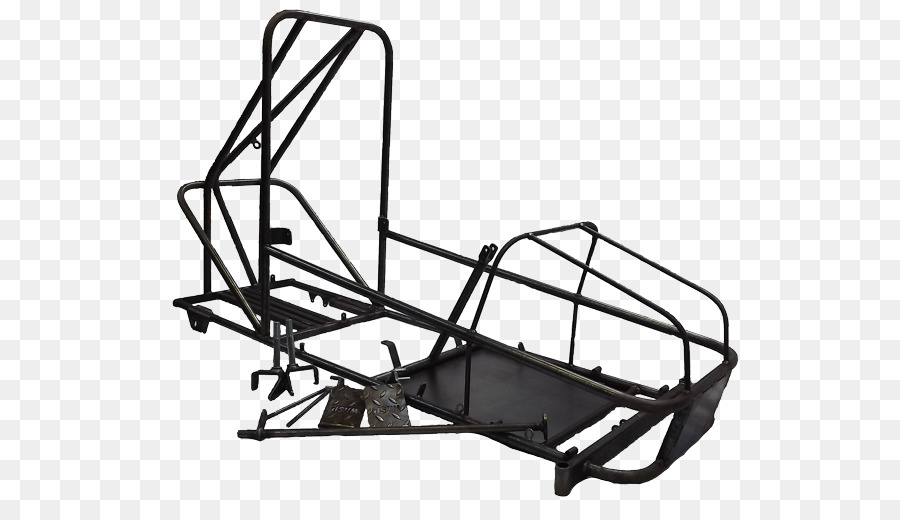 Off road go-kart Rolling chassis Kart racing - metal frame png ...
