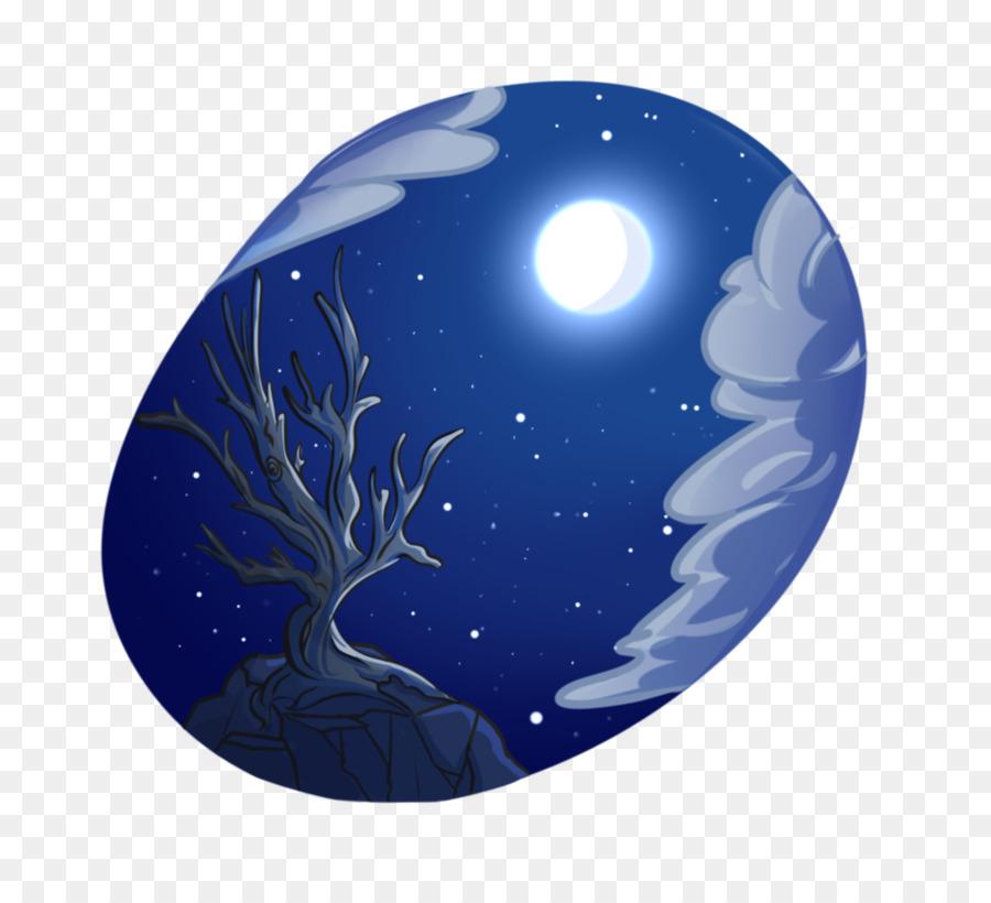 Terra M 02j71 Blu Cobalto Ornamento Di Natale Sfera Cielo