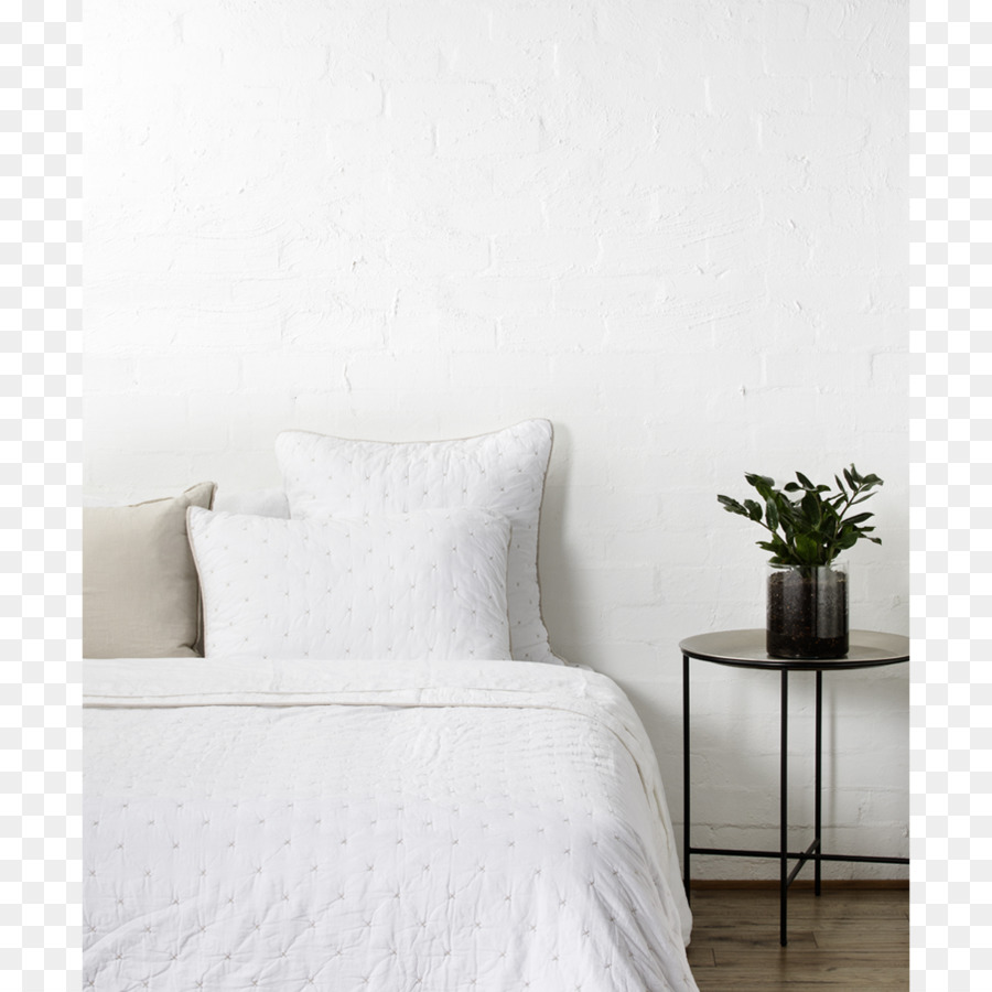 Marco de la cama con Edredón Almohada Colchón del Dormitorio - baja ...