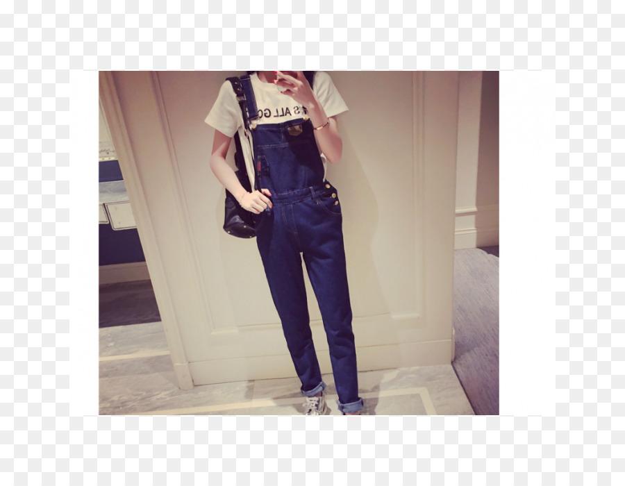 Jeans Waist Denim Overall Pocket Batik Modern Png Download 700