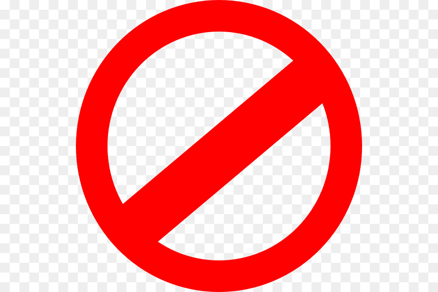 no symbol sign clip art prohibited signs png download