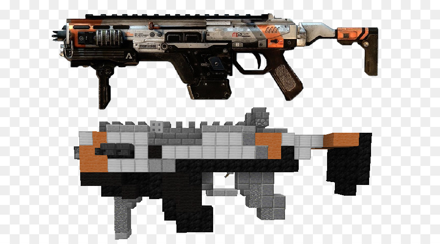 Titanfall 2 Submachine Gun Weapon Mine Car Png Download 700500