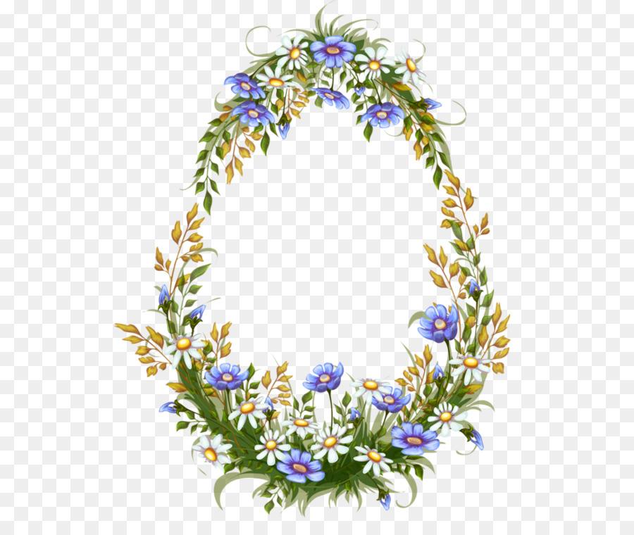 Diseno Floral Garland Clip Art Creativo Con Flores Tropicales Png