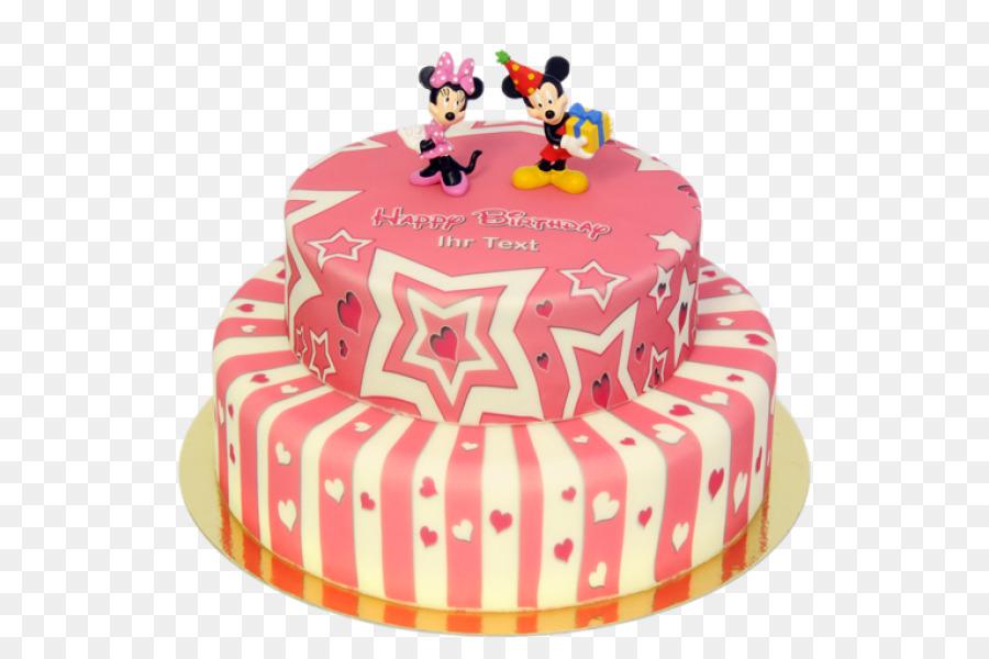 Birthday Cake Minnie Mouse Torte Mickey Mouse Sugar Cake Mickey