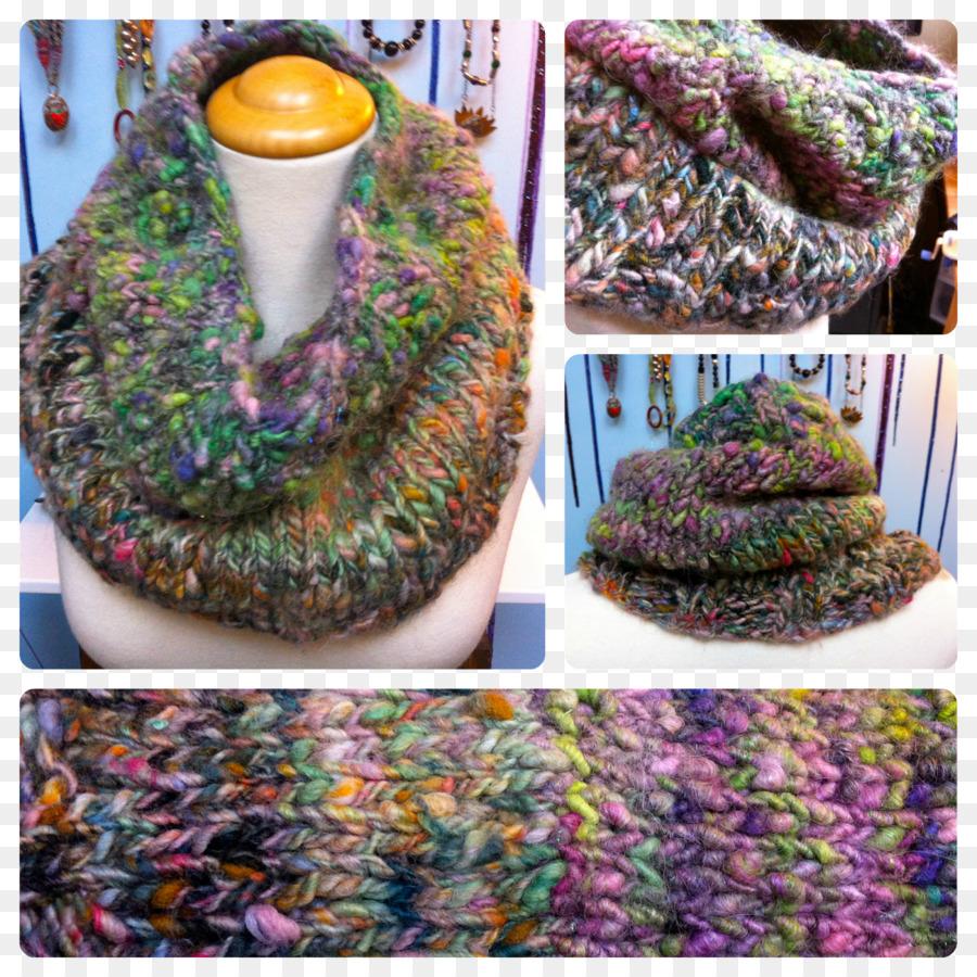 Crochet Bufanda De Hilo De Color Púrpura Patrón - el hilo de color ...