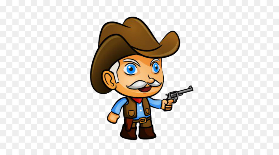 802b34850458a American frontier Cowboy Animation Clip art - western style png ...