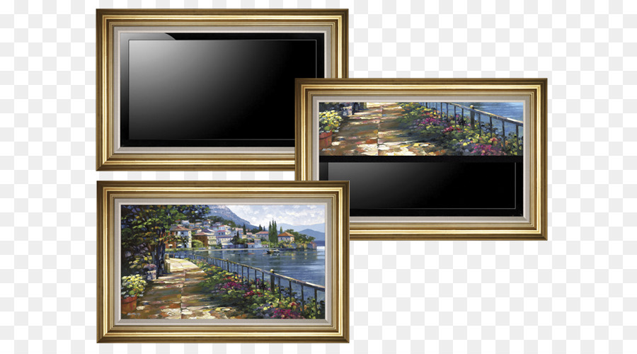 Picture Frames Flat Panel Display Television Home Theater Systems