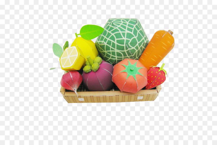 Frucht Papier-Modell-Gemüse-Vegetarische Küche - Gemüsegarten Karte ...