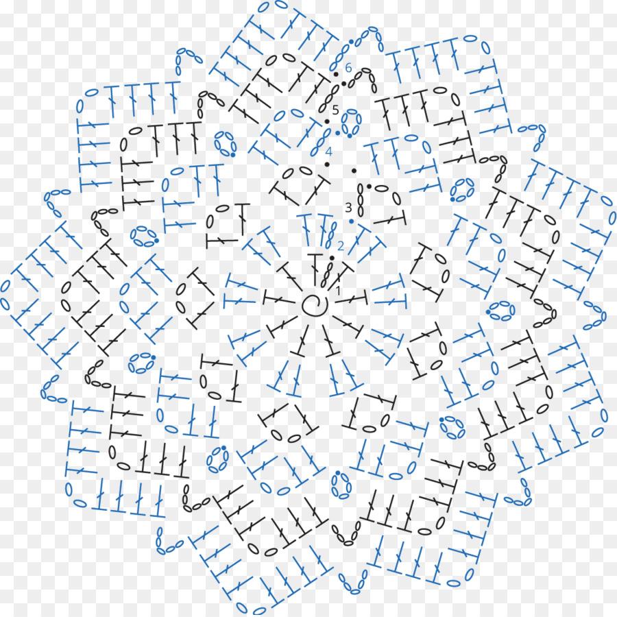 Crochet Una Manta Tapete Afgano Patrón - patrón de relleno Formatos ...