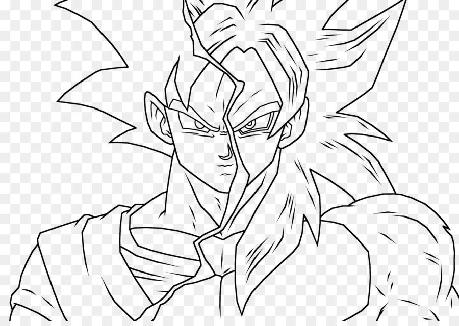 Dibujos Para Colorear De Goku Y Vegeta: Imagenes De Goku Y Vegeta Para Dibujar A Color