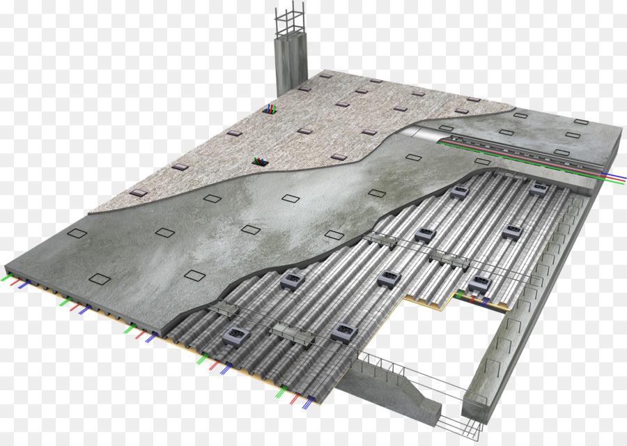 Cubierta de Piso de concreto Reforzado de Encuadre - material de ...
