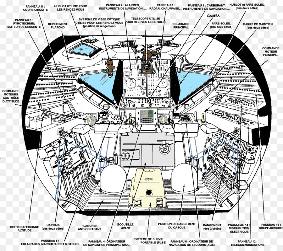 Apollo program Apollo Lunar Module Spacecraft Diagram - space ...
