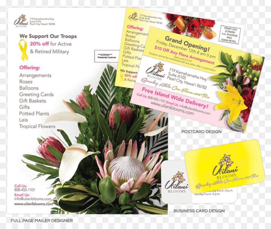Floral design Graphic design Web design Designer - flower business ...