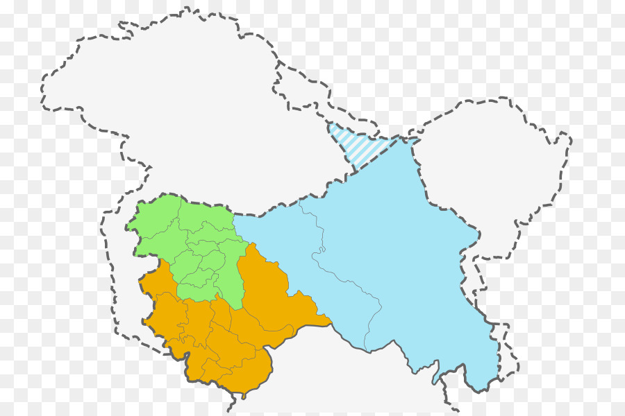 Kashmir conflict 1947 Jammu massacres Bandipora district - map of ...