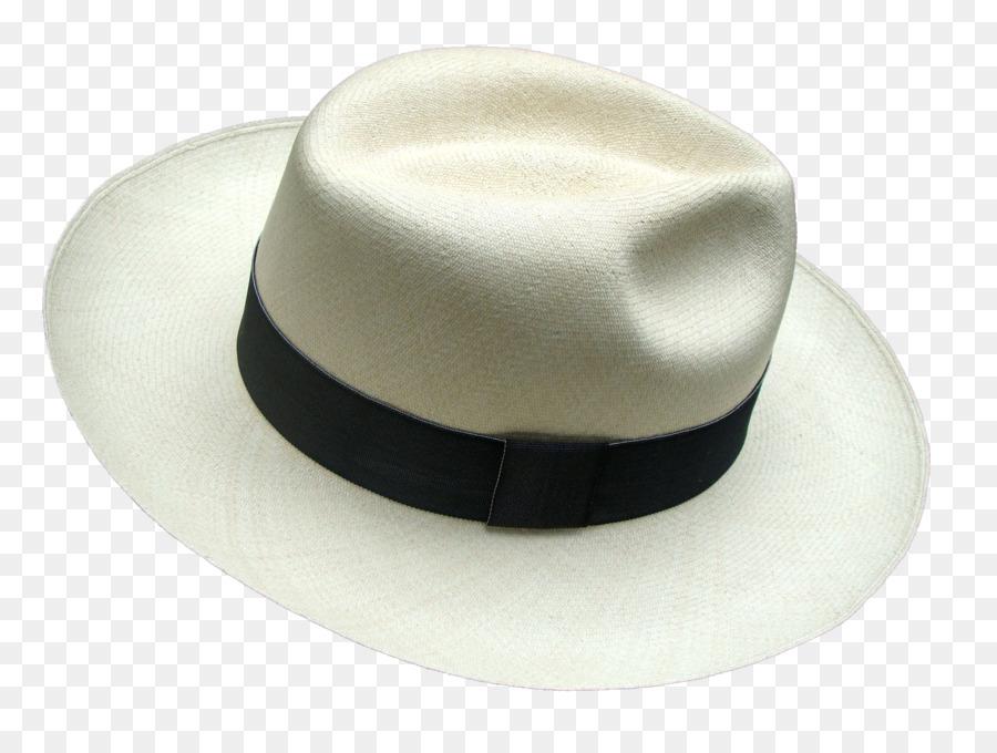 Montecristi, Ecuador Fedora Panama hat Straw hat - panama