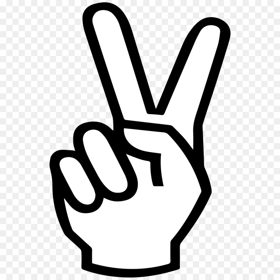 V Sign Peace Symbols Drawing Points Of Interest Png Download