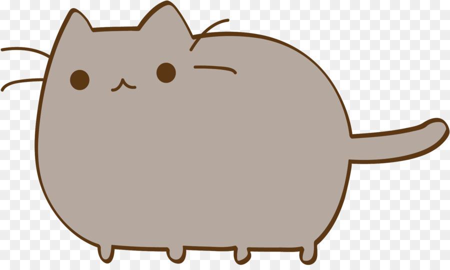 Cat Pusheen Desktop Wallpaper Animation Cute Stickers Png Download