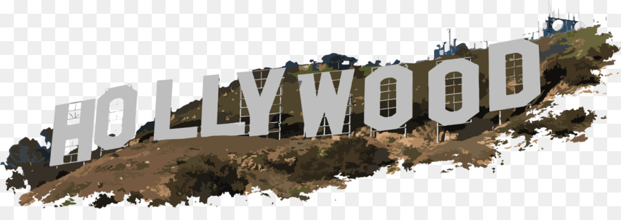 Hollywood Sign Downtown Los Angeles Clip Art