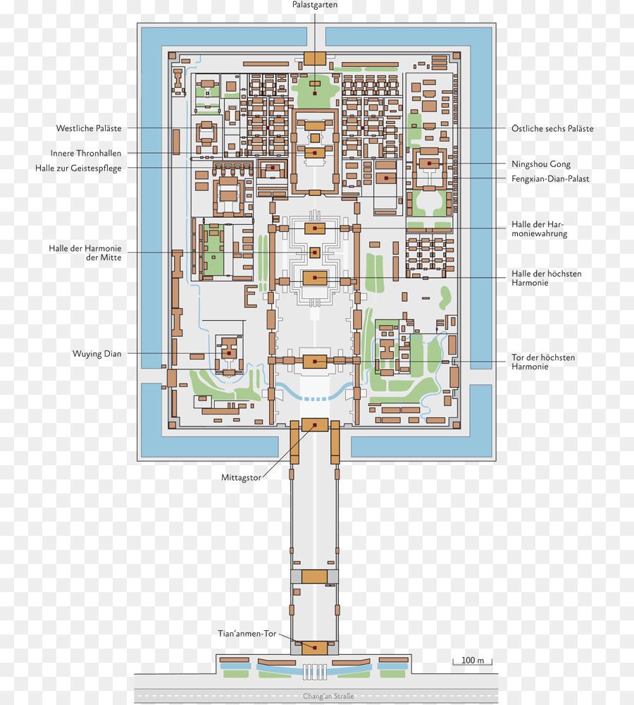 Forbidden City Floor plan House plan peking png download 800 – City House Floor Plans